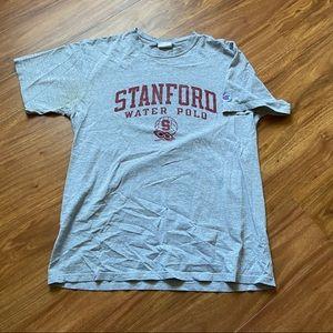 Vintage gray Stanford champion tee